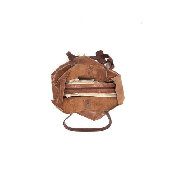 Kožená kabelka Renata Corsi 892 Marrone