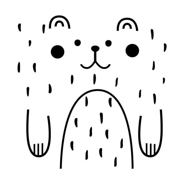 Samolepka Ambiance Happy Bear