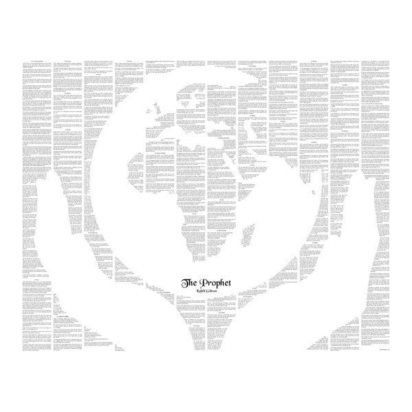 Knižný plagát Prorok, 50x40 cm