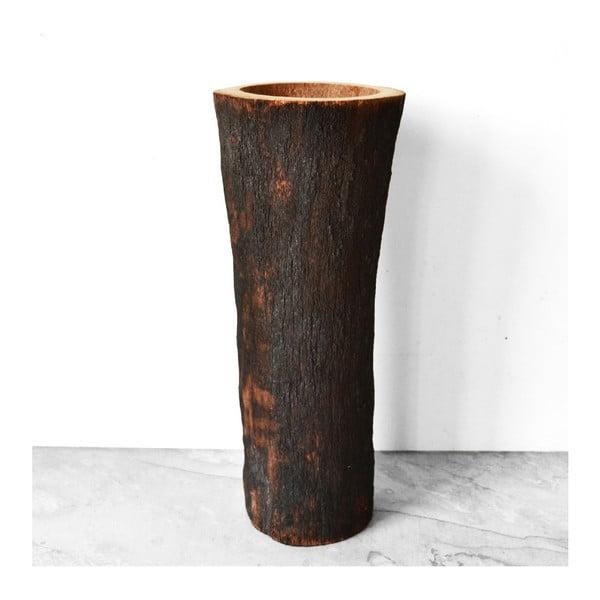 Vypálená palmová váza Burned