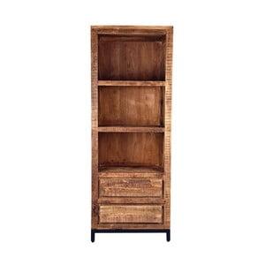Knižnica z mangového dreva LABEL51 Gent