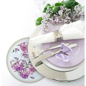 Sada 2 prestieraní Purple Roses