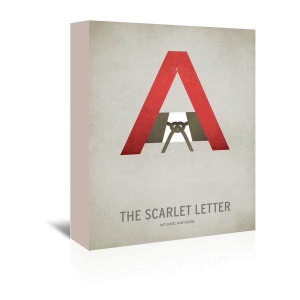 Obraz na plátne The Scarlet Letter od Christiana Jacksona