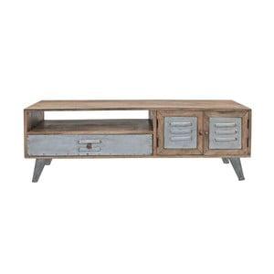 Televízny stolík z mangového dreva Canett Leipzig