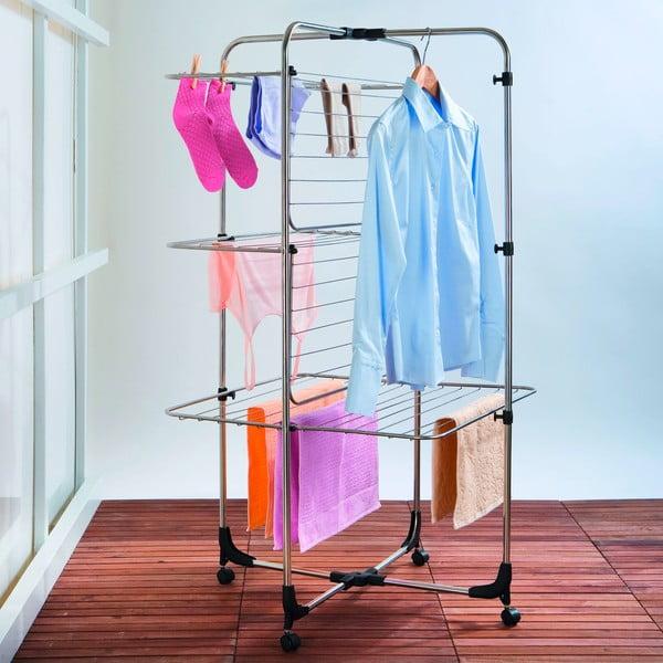 Trojposchodový sušiak na bielizeň Wenko Laundry