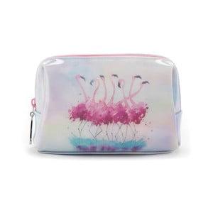 Kozmetická taška Catseye London Flamingo