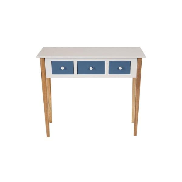 Konzolový stolík Vaasa Retro Blue