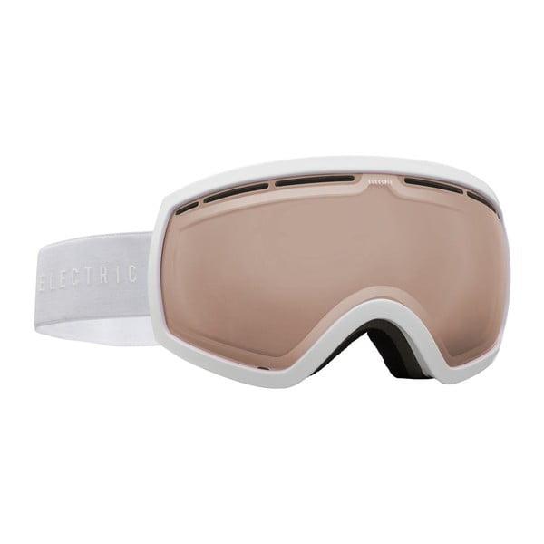 Dámske lyžiarske okuliare Electric EG25 Gloss White / Bronze, veľ. M