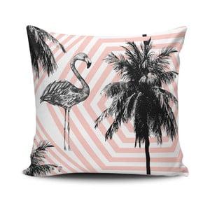 Vankúš s prímesou bavlny Cushion Love Palms, 45 × 45 cm