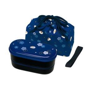 Desiatový box s vrecúškom Furawa Blue, 630 ml