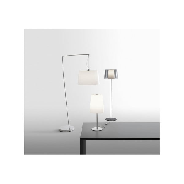 Stojacia lampa Pedrali L001ST/BA, biela transparentná