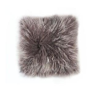 Kožušinový vankúš Tibetian Frost, 50x50 cm