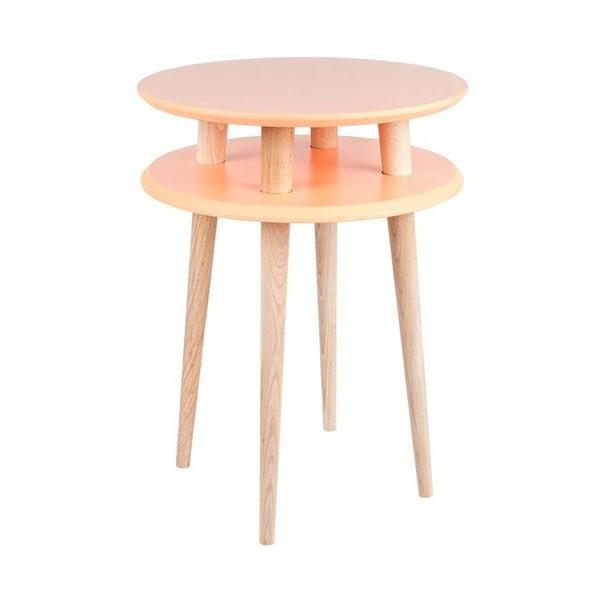 Oranžový konferenčný stolík Ragaba UFO,Ø45cm