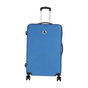 Modrý cestovný kufor LULU CASTAGNETTE Mia, 107 l