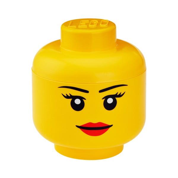 Úložný panáčik LEGO® Girl, ⌀16,3cm