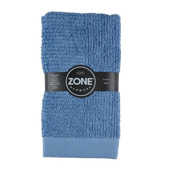 Modrý uterák Zone Classic, 70x50 cm