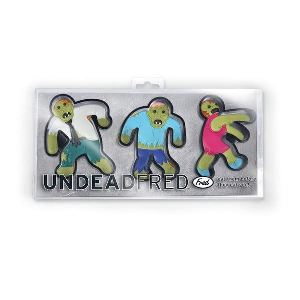 Sada 3 formičiek Fred & Friends Undead Fred