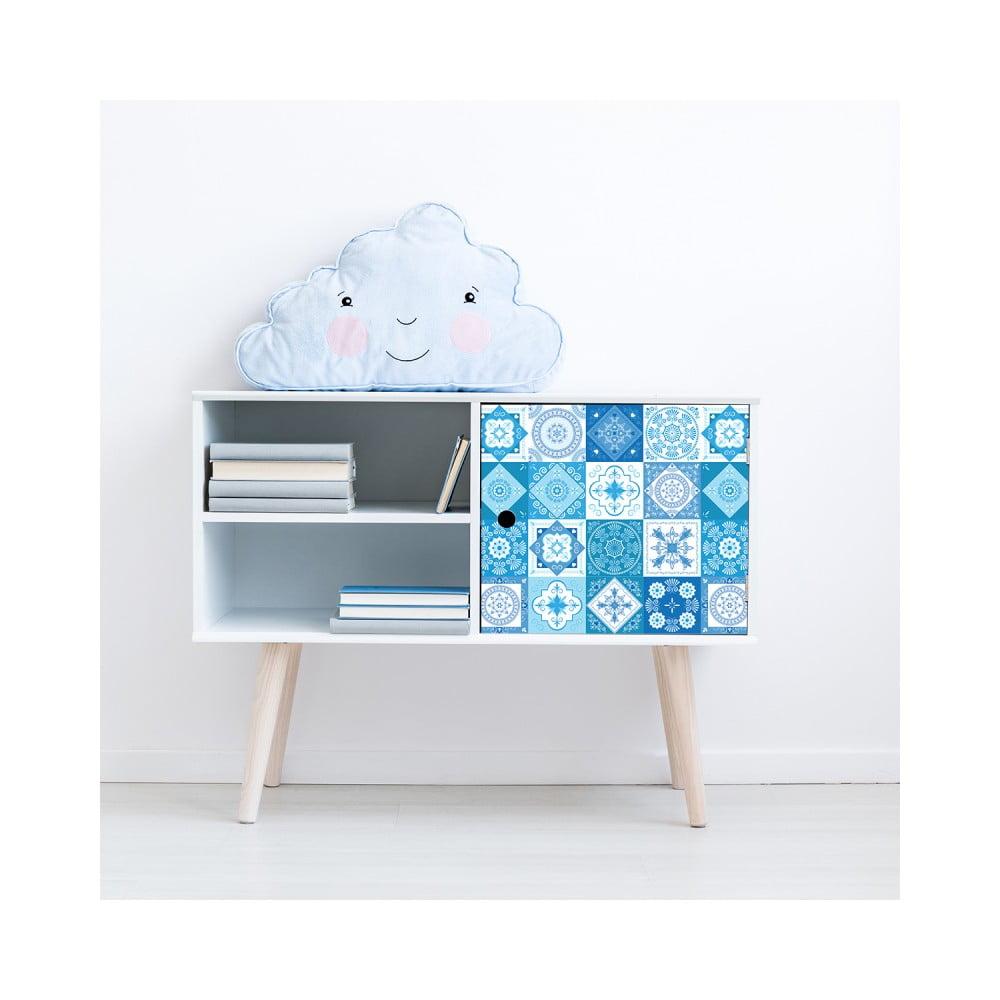 Sada 24 samolepiek na nábytok Ambiance Tiles Stickers For Furniture Jeni, 15 × 15 cm