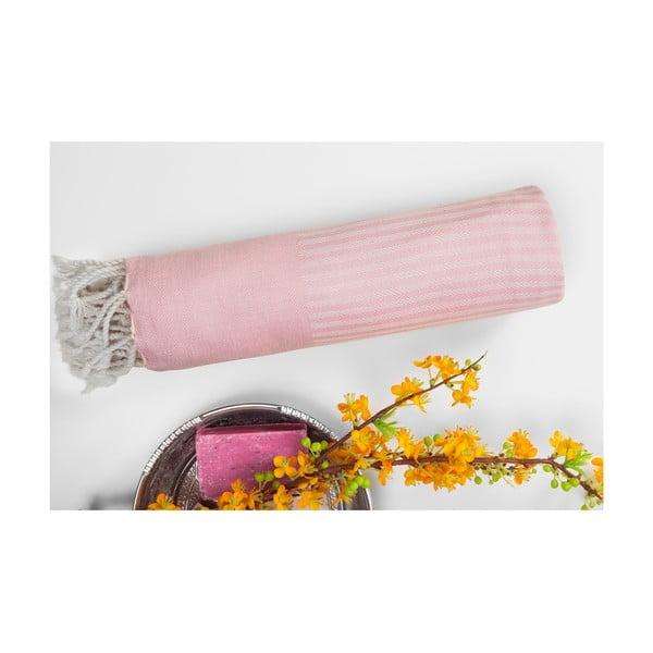 Hammam osuška Loincloth, ružová