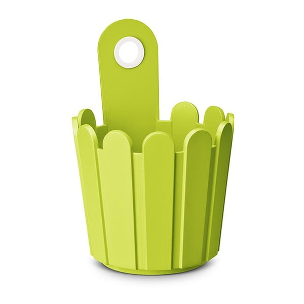 Kvetináč Mini Planter Green, 15,5x22/14 cm