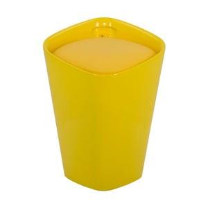 Žltá stolička s úložným priestorom Mauro Ferretti Space