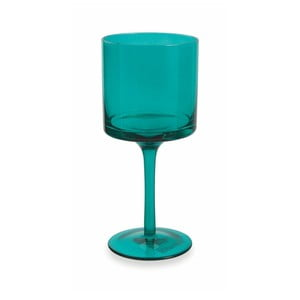 Sada 6 tyrkysovomodrých pohárov na víno Villa d'Este Cala Kondal, 450 ml