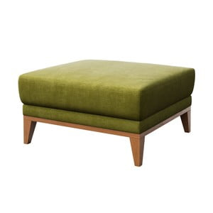 Zelený puf Mesonic Musso