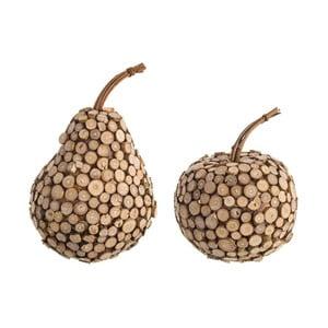 Dekorácia 2ks Bizzotto Fruit