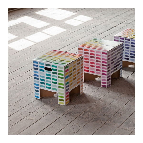 Stolička Dutch Design Chair Rainbow