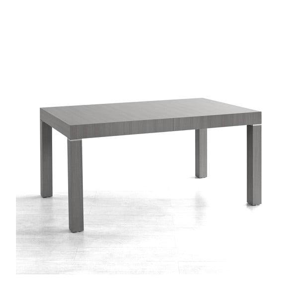 Rozkladací jedálenský stôl Icon, sivý