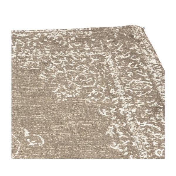 Svetlo-hnedý bavlnený koberec LABEL51 Vintage, 230 x 160 cm