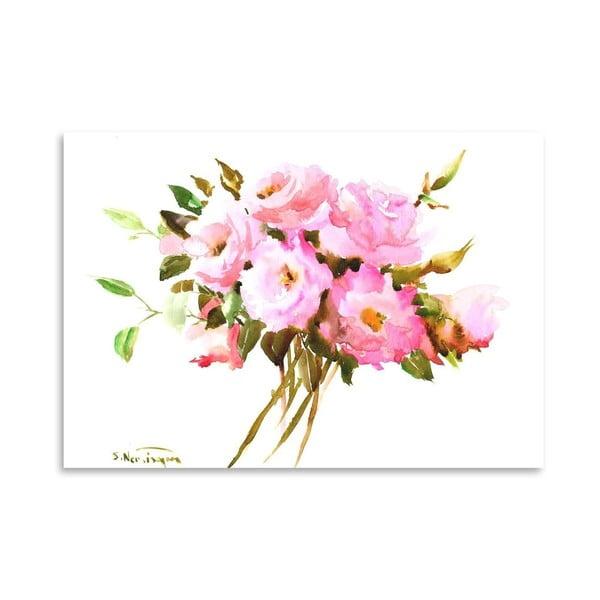 Plagát Roses in Pink od Suren Nersisyan