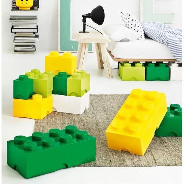 Zelený úložný boxík LEGO®