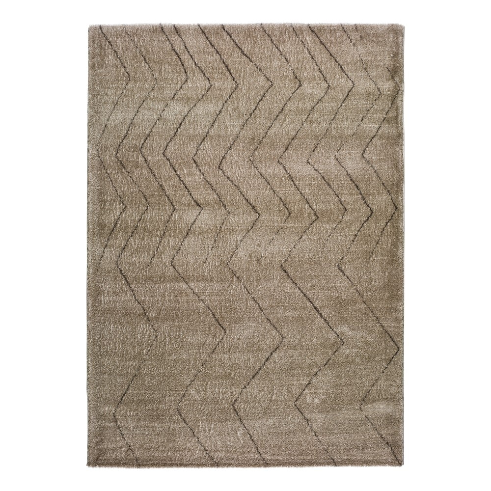 Béžový koberec Universal Moana Greo, 135 x 190 cm