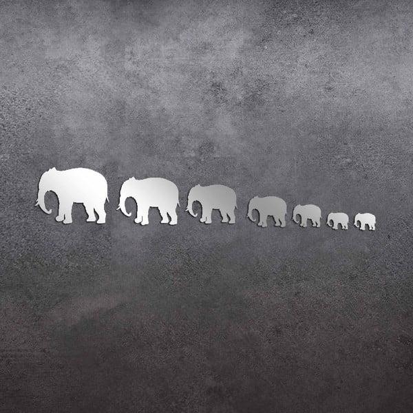 Dekoratívne zrkadlo Elephants