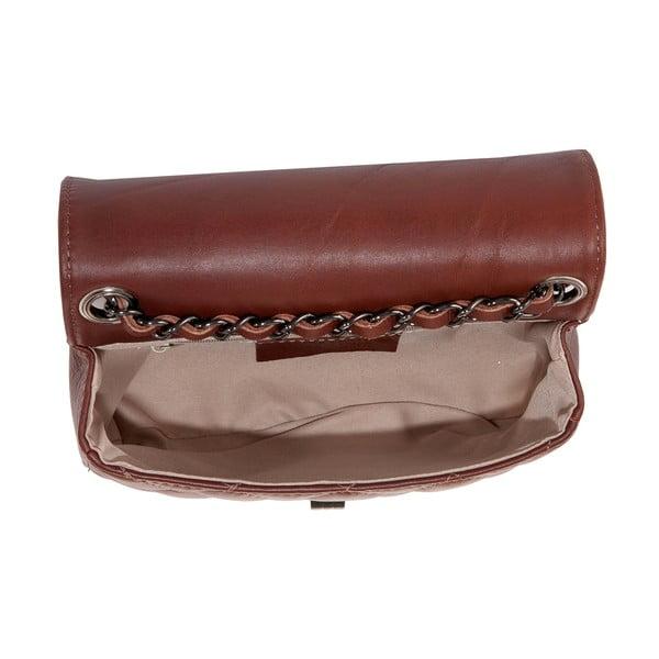 Hnedá kabelka z pravej kože Andrea Cardone Felisa