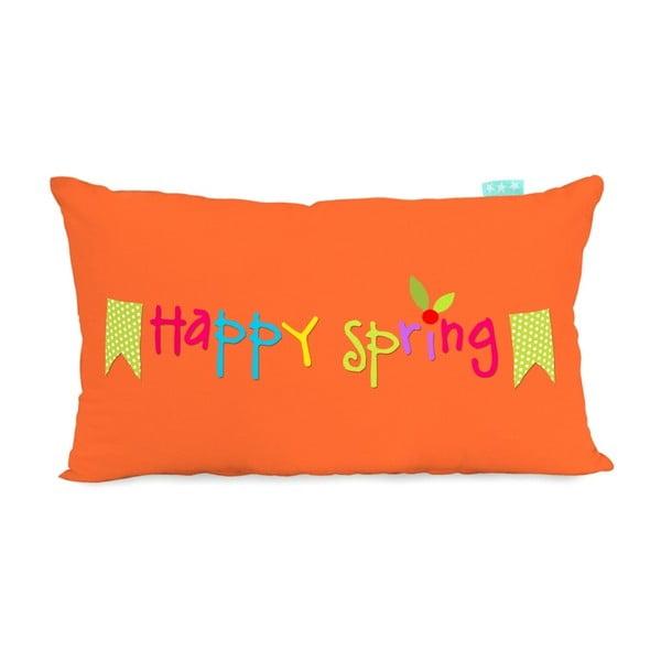 Obliečka na vankúš Little W Happy Spring, 50×30cm