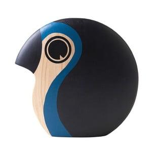 Dekorácia v tvare malého vtáčika so svetlomodrým detailom Architectmade Discus