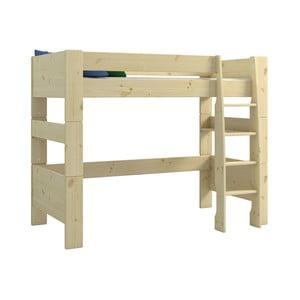 Detská poschodová posteľ z borovicového dreva Steens For Kids, výška 164 cm