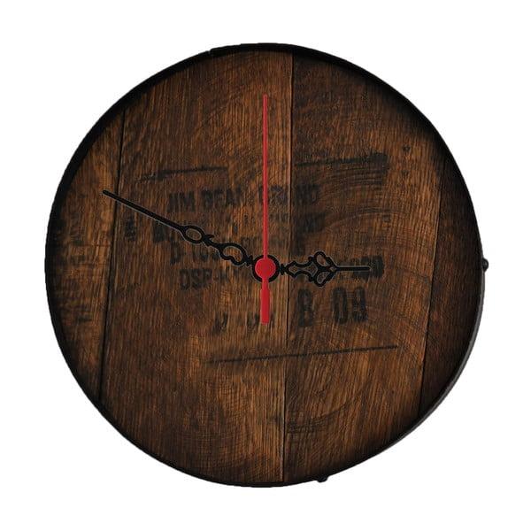 Nástenné hodiny Jim Beam, 30 cm