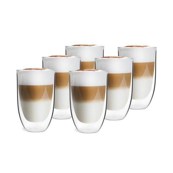 Sada 6 dvojitých pohárov Vialli Design NATALIE, 350 ml
