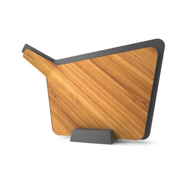 Krájacie dosky so stojanom Chopping Board Set, sivá