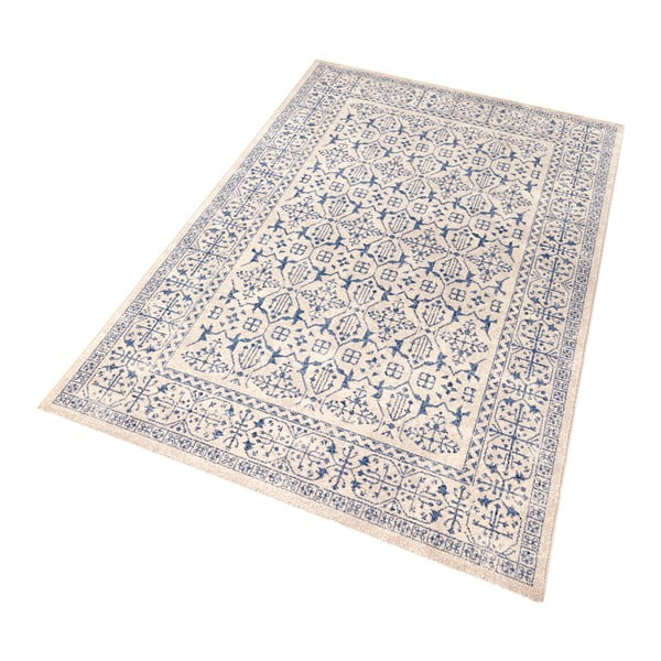 Modrý koberec Mint Rugs Diamond Details, 133 x 195 cm