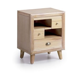 Nočný stolík z dreva Mindi Moycor Bromo, 50 × 40 × 60 cm