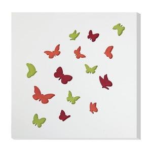 Nástenná dekorácia Vialli Design C-tru Butterfly