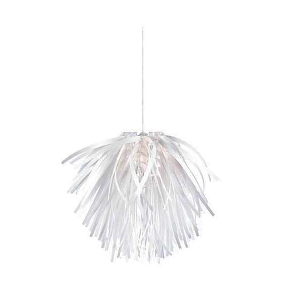 Biele závesné svetlo Flora