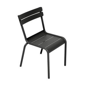 Čierna detská stolička Fermob Luxembourg