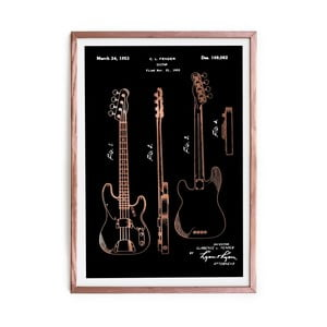 Obraz Really Nice Things Fender Guitar, 40 x 60 cm