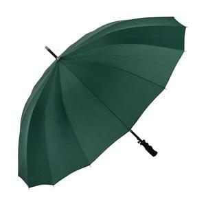 Zelený dáždnik s rúčkou Von Lilienfeld Cleo XXL