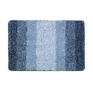 Modrá kúpeľňová predložka Wenko Luso, 60 x 90 cm